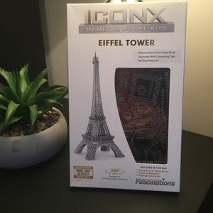 ICONX 3D metal model kit EIFFEL TOWER